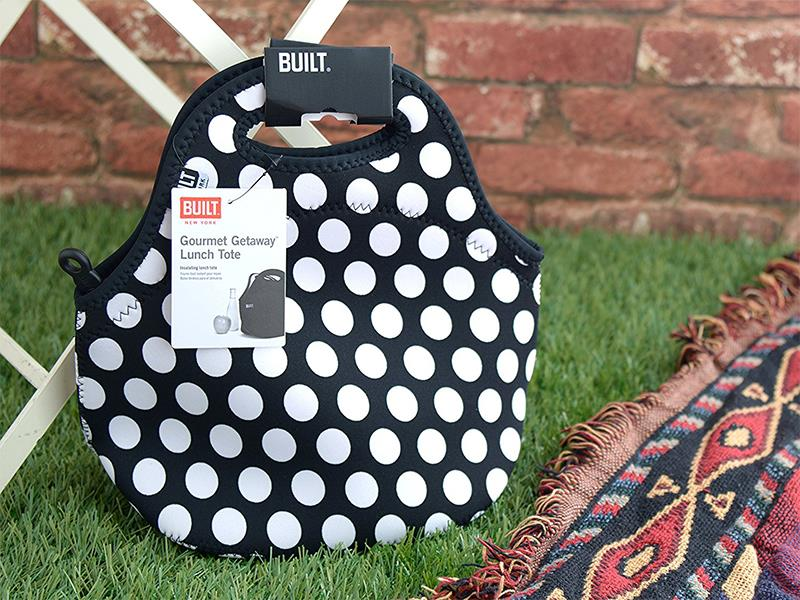 BUILT Gourmet Getaway Lunch Tote - Torebka na lunch (Big Dot)