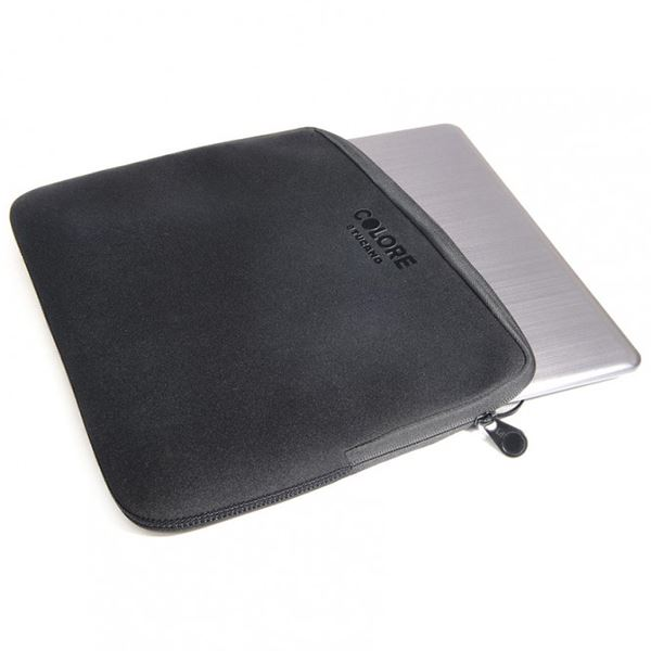 "Tucano Colore Second Skin - Pokrowiec Notebook 15,6"" (czarny)"