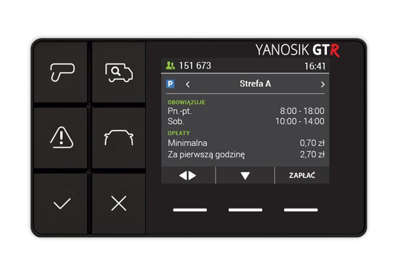 Yanosik GTR - Asystent kierowcy z komunikatorem drogowym
