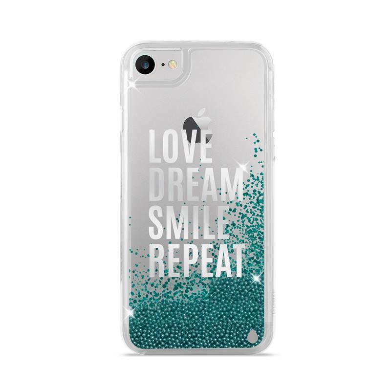 Puro Aqua Cover - Etui iPhone 7 / iPhone 6s / iPhone 6 (Love Dream Smile Repeat)