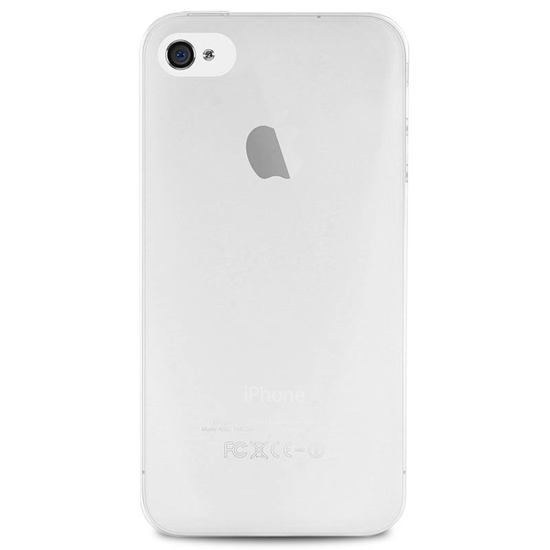 """PURO Ultra Slim """"0.3"""" Cover - Etui iPhone 4s / iPhone 4 (półprzezroczysty)"""