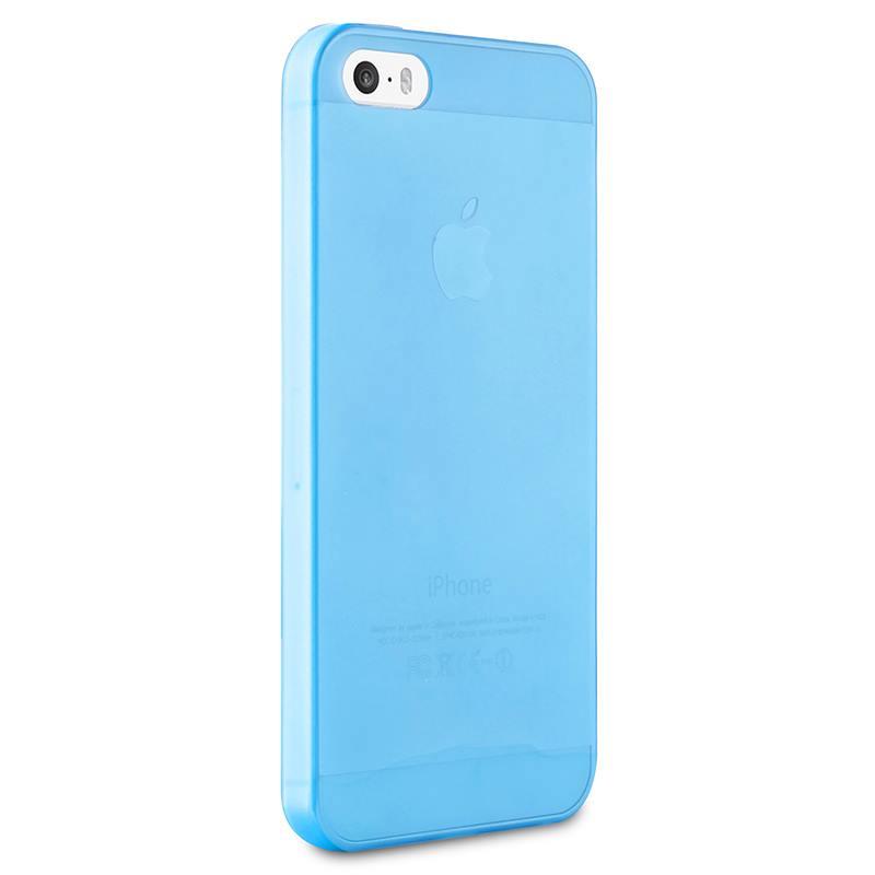 """PURO Ultra Slim """"0.3"""" Cover - Etui iPhone SE / iPhone 5s / iPhone 5 (niebieski)"""