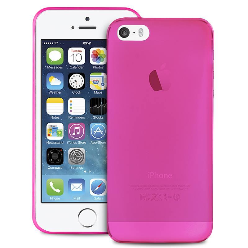 "PURO Ultra Slim ""0.3"" Cover - Etui iPhone SE / iPhone 5s / iPhone 5 (różowy)"