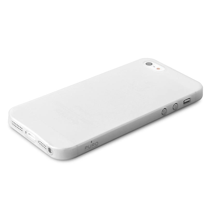 "PURO Ultra Slim ""0.3"" Cover - Etui iPhone SE / iPhone 5s / iPhone 5 (półprzezroczysty)"