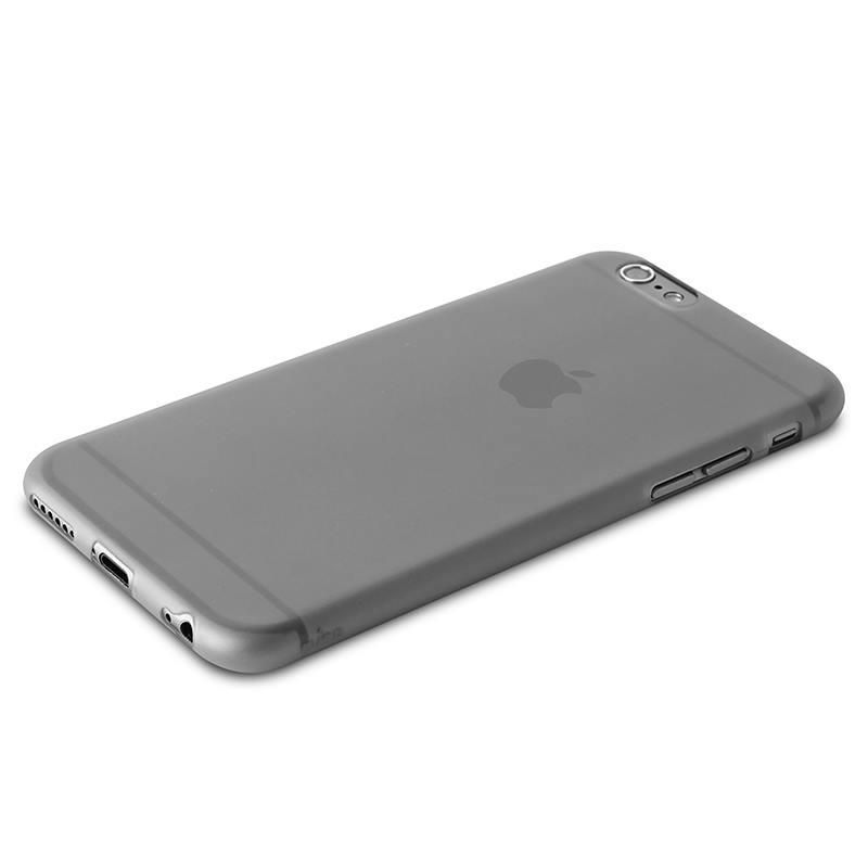 """PURO Ultra Slim """"0.3"""" Cover - Etui iPhone 6s / iPhone 6 (czarny przezroczysty)"""