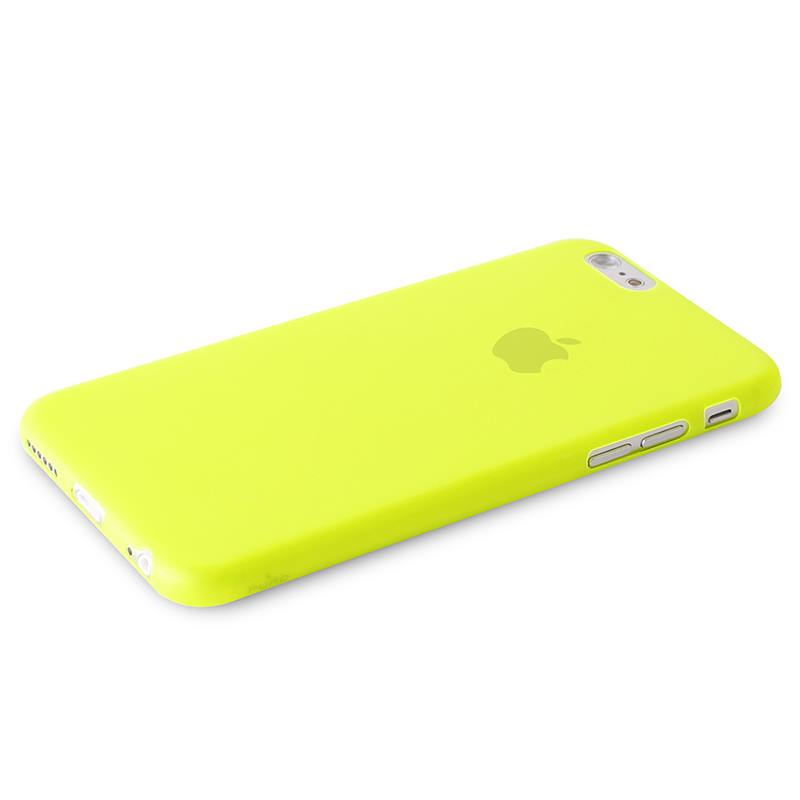 "PURO Ultra Slim ""0.3"" Cover - Etui iPhone 6s / iPhone 6 (limonkowy)"