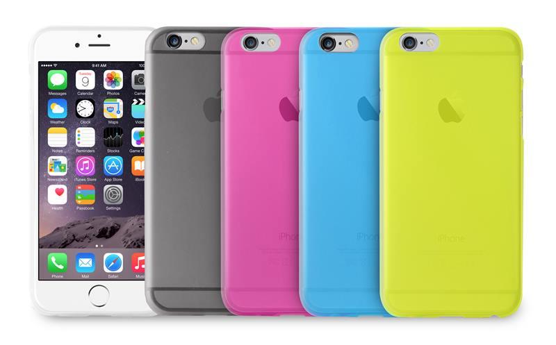 "PURO Ultra Slim ""0.3"" Cover - Etui iPhone 6s Plus / iPhone 6 Plus (różowy)"