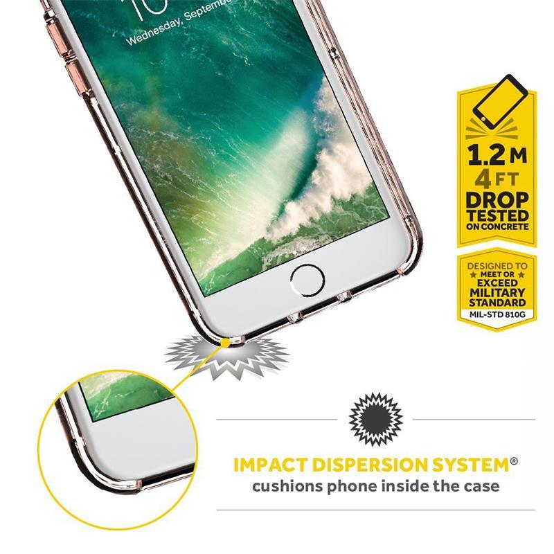 Griffin Reveal - Etui iPhone 8 Plus / 7 Plus / 6s Plus / 6 Plus (przezroczysty)