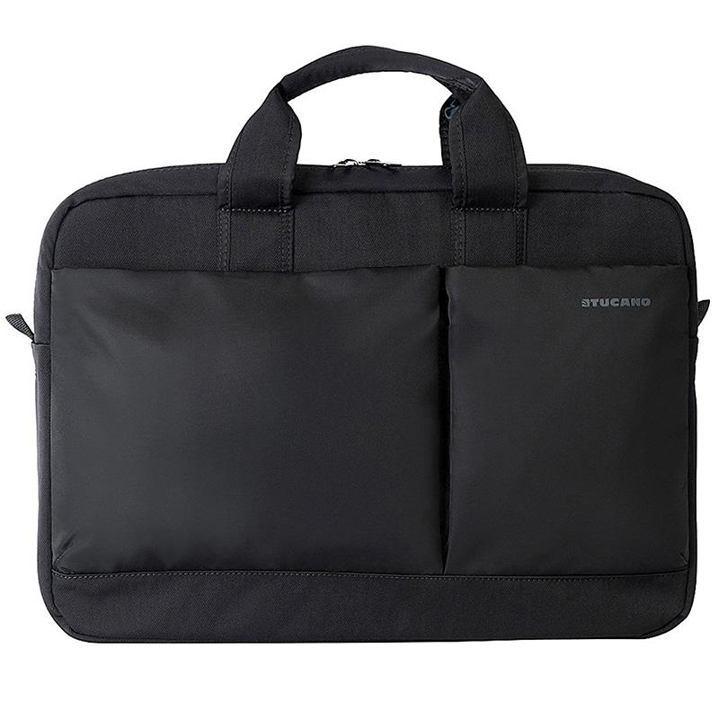 "Tucano Piu Bag - Torba MacBook Pro 13"" Retina & notebook 13.3"" / 14"" (czarny)"