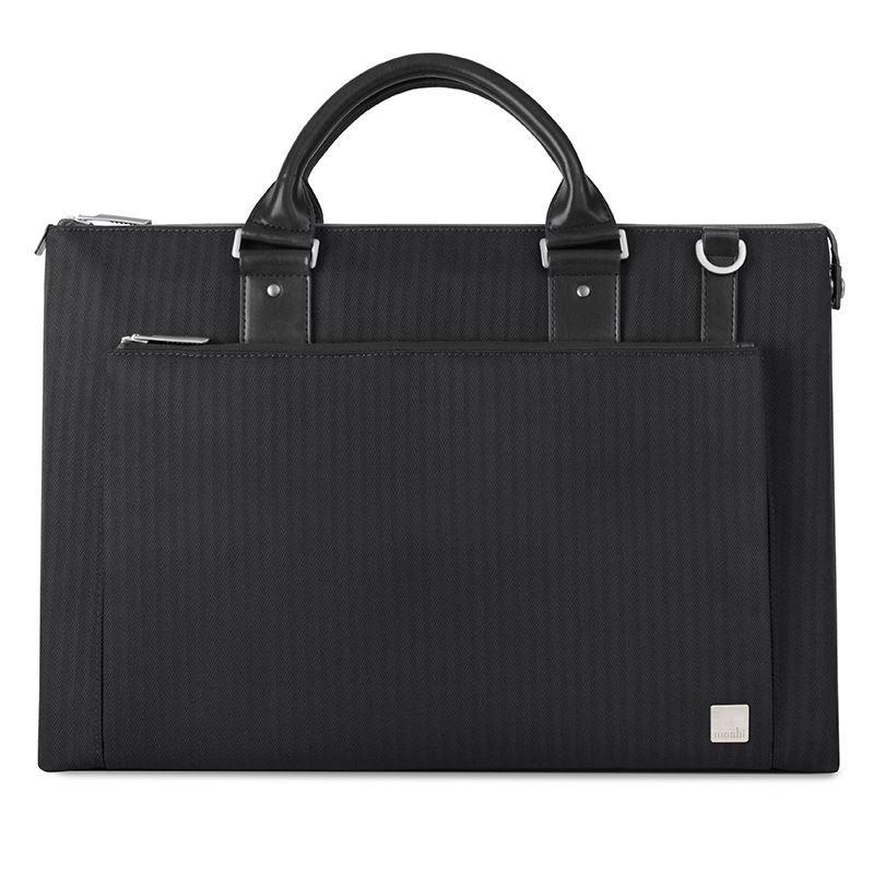 "Moshi Urbana - Torba MacBook Pro 15"" Retina/iPad Pro 12,9"" + kieszeń na tablet do 10"" (Slate Black)"