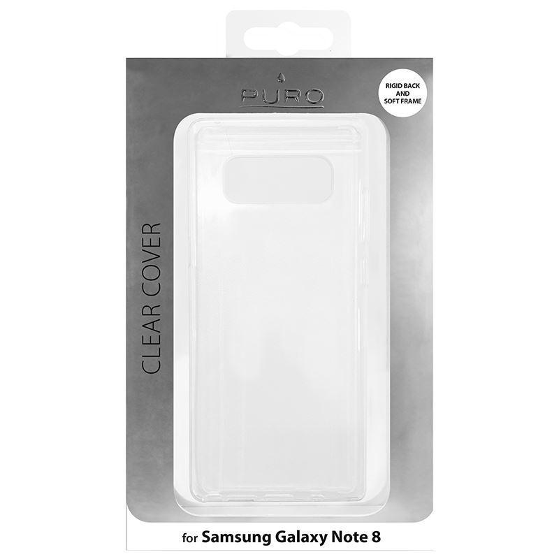 PURO Clear Cover - Etui Samsung Galaxy Note 8 (2017) (przezroczysty)