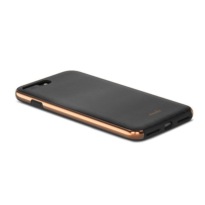 Moshi iGlaze - Etui iPhone 8 Plus / 7 Plus (Armour Black)