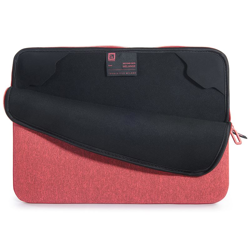 "Tucano Melange Second Skin - Pokrowiec MacBoook Air 13"" / MacBook Pro 13"" / Ultrabook 13"" / Notebook 14"" (malinowy)"