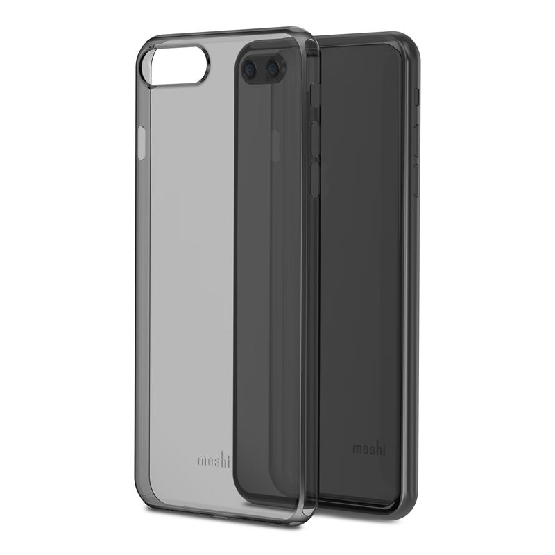 Moshi SuperSkin - Etui iPhone 8 Plus / 7 Plus (Stealth Black)
