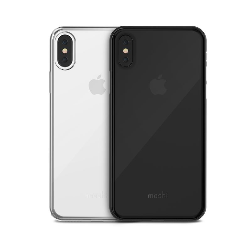 Moshi SuperSkin - Etui iPhone X (Stealth Black)