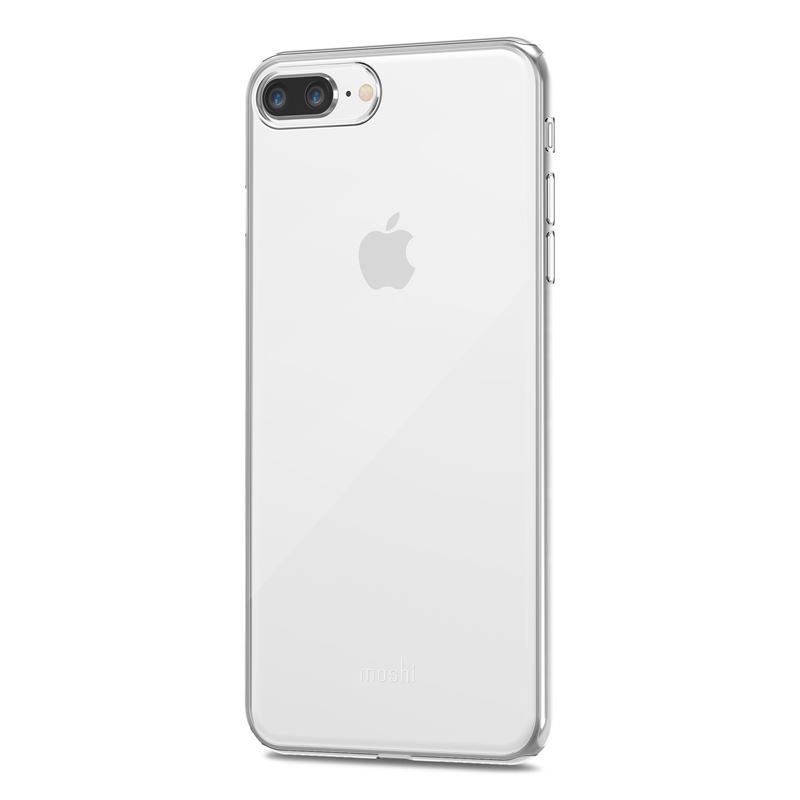 Moshi SuperSkin - Etui iPhone 8 Plus / 7 Plus (Crystal Clear)
