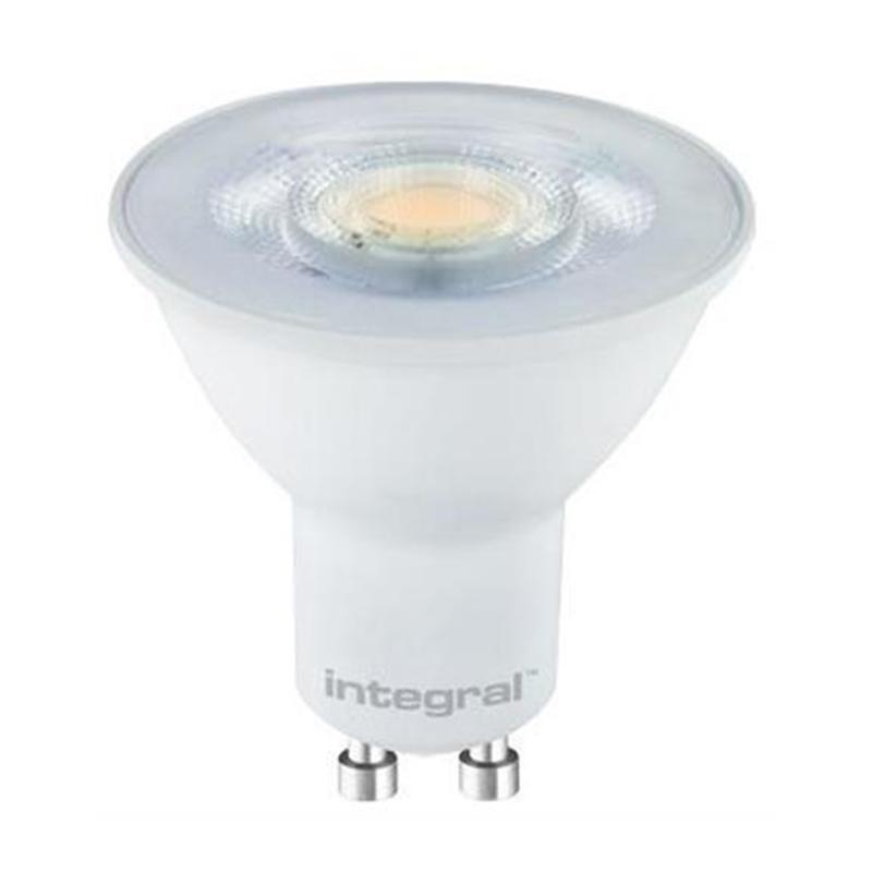 Integral żarówka LED GU10 Glass PAR16 3.2W (38W) 4000K 290lm barwa biała zimna (5 szt.)
