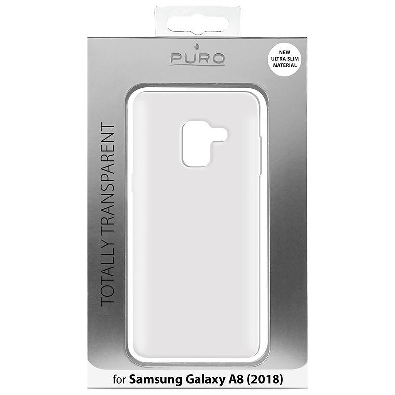 PURO 0.3 Nude - Etui Samsung Galaxy A8 (2018) (przezroczysty)
