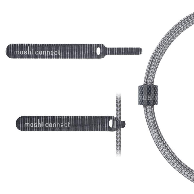 Moshi Integra - Kabel Apple Lightning MFi 1,2 m (Titanium Gray)