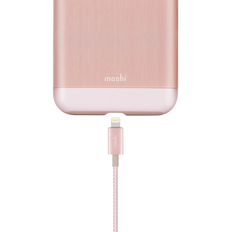 Moshi Integra - Kabel Apple Lightning MFi 1,2 m (Golden Rose)