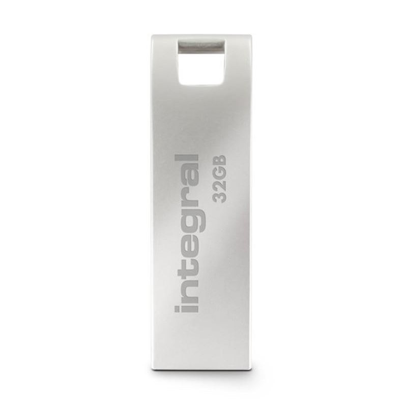 Integral Metal ARC USB 2.0 Flash Drive - Metalowy pendrive USB 2.0 32GB