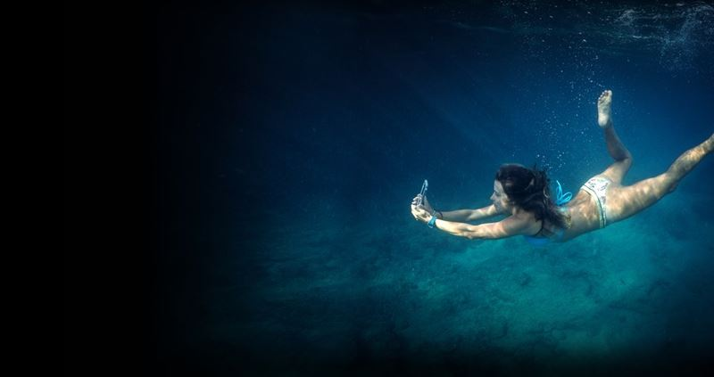 Catalyst Waterproof Case - Etui wodoszczelne (IP-68 do 10 m głębokości) iPhone 8 / 7 (Stealth Black)