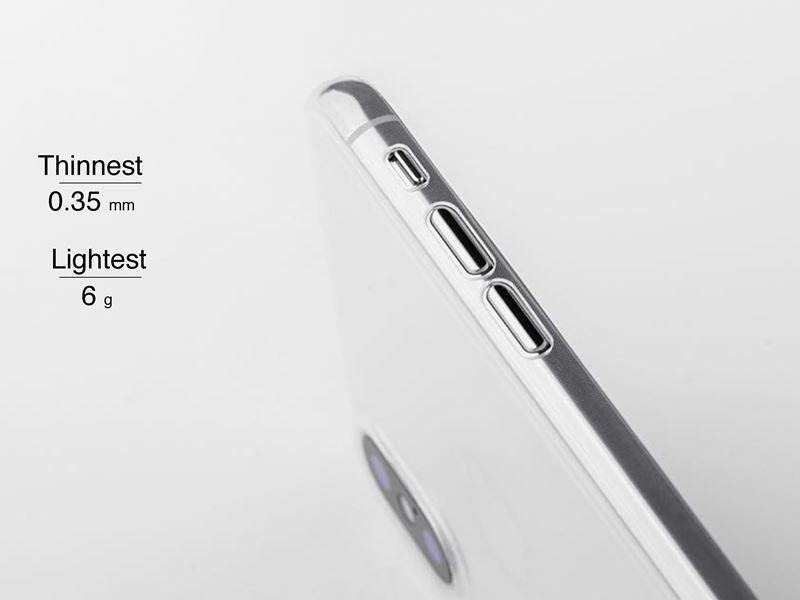 Moshi SuperSkin - Etui iPhone 8 / 7 (Crystal Clear)