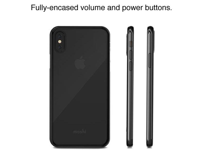 Moshi SuperSkin - Etui iPhone X (Crystal Clear)