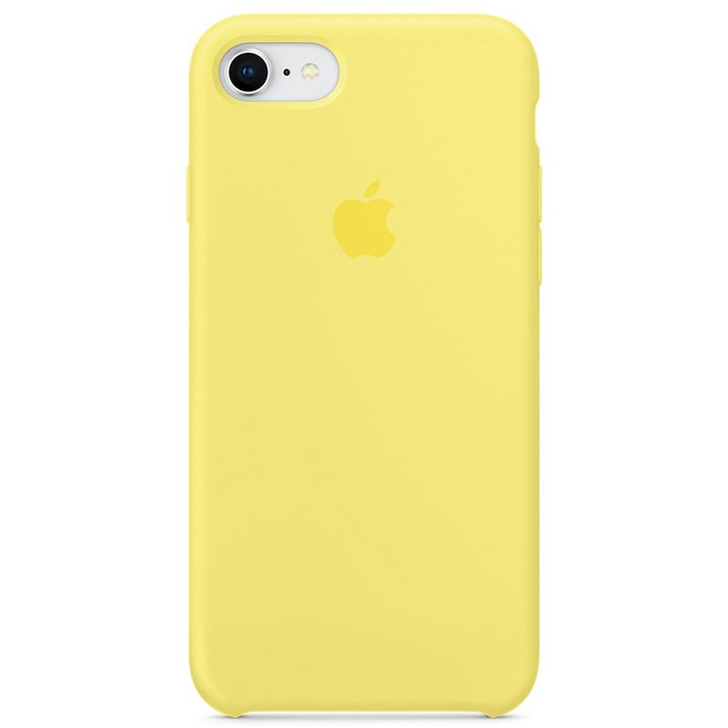 Apple Silicone Case - Silikonowe etui iPhone 8 / 7 (lemoniadowy)