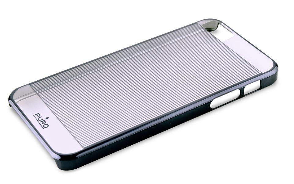 PURO Mirror Cover - Etui iPhone SE / iPhone 5s / iPhone 5 (srebrny)