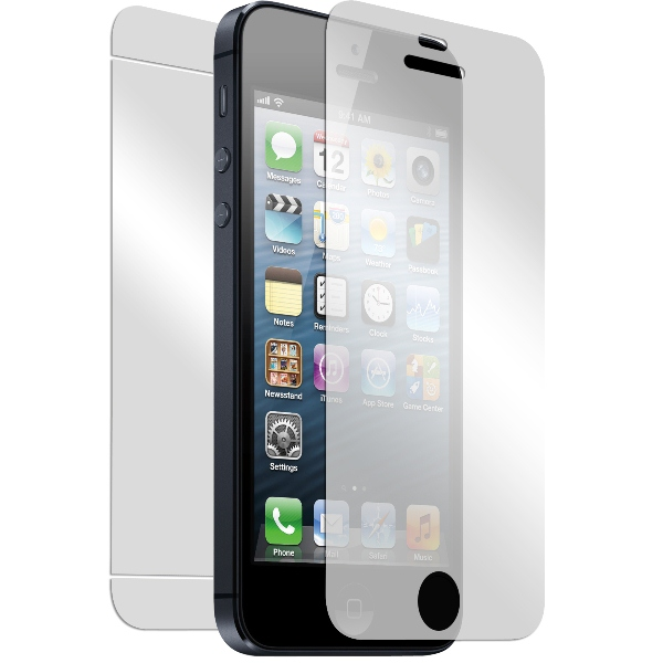 PURO Zestaw folia ochronna przód + tył iPhone SE / iPhone 5s / iPhone 5c / iPhone 5
