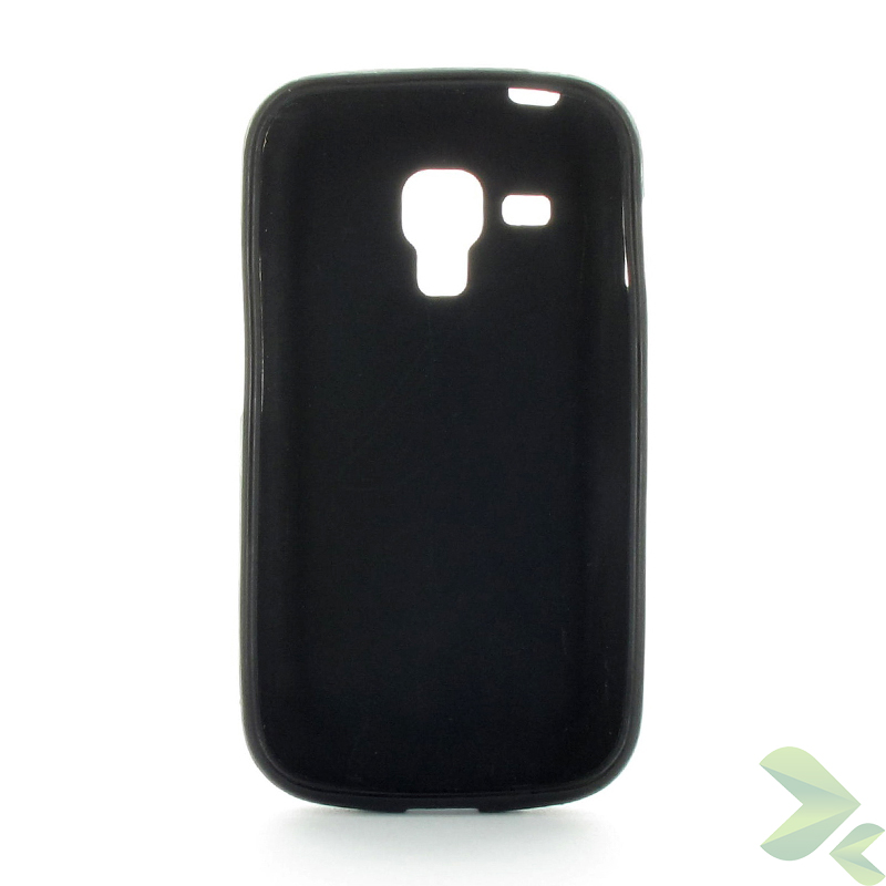 Geffy - Etui Samsung Galaxy Trend S7560 TPU solid color black