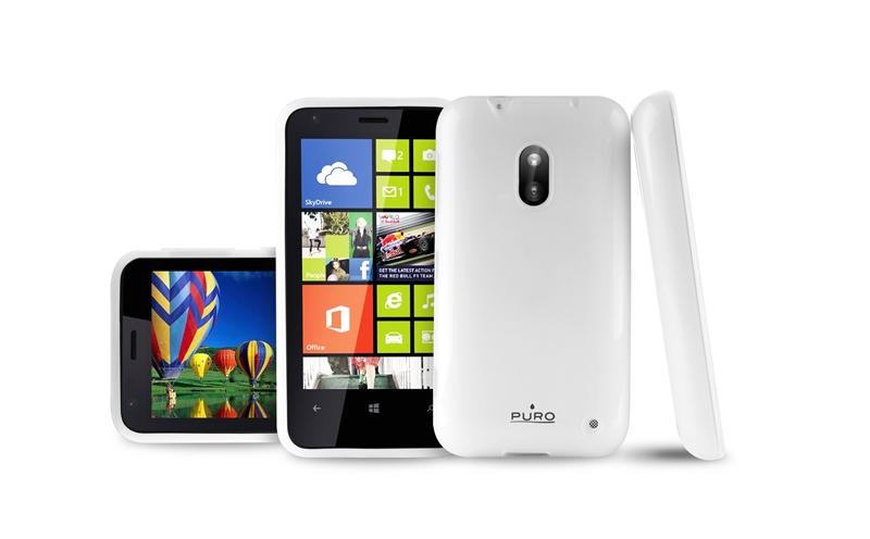 PURO Case - Etui Nokia Lumia 620 (przezroczysty)