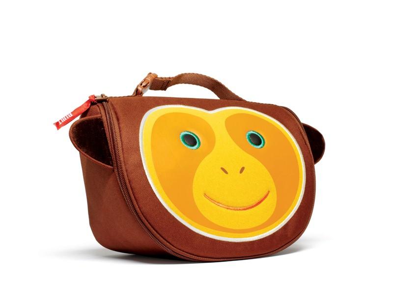 BUILT Big Apple Buddies Lunch Bag - Torebka na śniadanie dla dzieci (MacDougal)