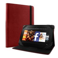 "PURO Universal Booklet Tablet Case - Etui tablet 8.9"" (czerwony)"