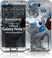 Nexgen Skins - Zestaw skórek na obudowę z efektem 3D Samsung GALAXY Note 2 (Running Back 3D)