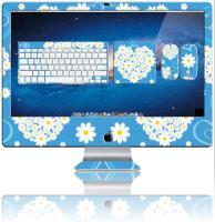 "Nexgen Skins - Zestaw skórek na obudowę z efektem 3D iMac 27"" (Hearts and Daisies 3D)"