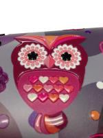 Nexgen Skins - Zestaw skórek na obudowę z efektem 3D Samsung GALAXY S III (Owlettes 3D)