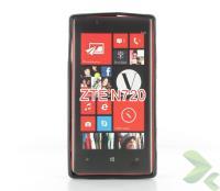 Geffy - Etui Nokia Lumia 720 TPU solid color black
