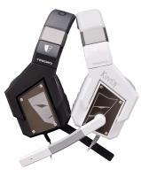 Tesoro Kuven Angel A1 - Słuchawki dla graczy virtual 7.1 surround z mikrofonem (białe)