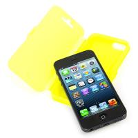TUCANO Pronto Booklet - Etui iPhone SE / iPhone 5s / iPhone 5 (żółty)