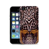 JUST CAVALLI Leopard Tiger Cover - Etui iPhone SE / iPhone 5s / iPhone 5 (czarny)