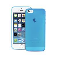 "PURO Ultra Slim ""0.3"" Cover - Zestaw etui + folia na ekran iPhone SE / iPhone 5s / iPhone 5 (niebieski)"