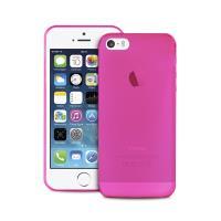 "PURO Ultra Slim ""0.3"" Cover - Zestaw etui + folia na ekran iPhone SE / iPhone 5s / iPhone 5 (różowy)"