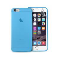"PURO Ultra Slim ""0.3"" Cover - Zestaw etui + folia na ekran iPhone 6s / iPhone 6 (niebieski)"