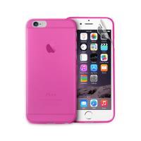 "PURO Ultra Slim ""0.3"" Cover - Zestaw etui + folia na ekran iPhone 6s / iPhone 6 (różowy)"