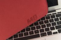 """TUCANO Elements - Pokrowiec MacBook Air 11"""" (czerwony)"""