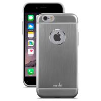 Moshi iGlaze Armour - Etui aluminiowe iPhone 6s / iPhone 6 (Space Grey)