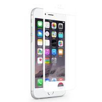 Moshi iVisor XT - Przezroczysta folia ochronna Full Face iPhone 6s / iPhone 6 (biały)