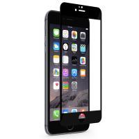 Moshi iVisor XT - Przezroczysta folia ochronna Full Face iPhone 6s Plus / iPhone 6 Plus (czarny)